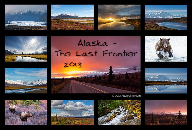 Bilder von unserer letzten Reise 2012 durch Alaska