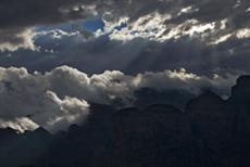 Wolkenstimmung über dem Blyde River Canyon