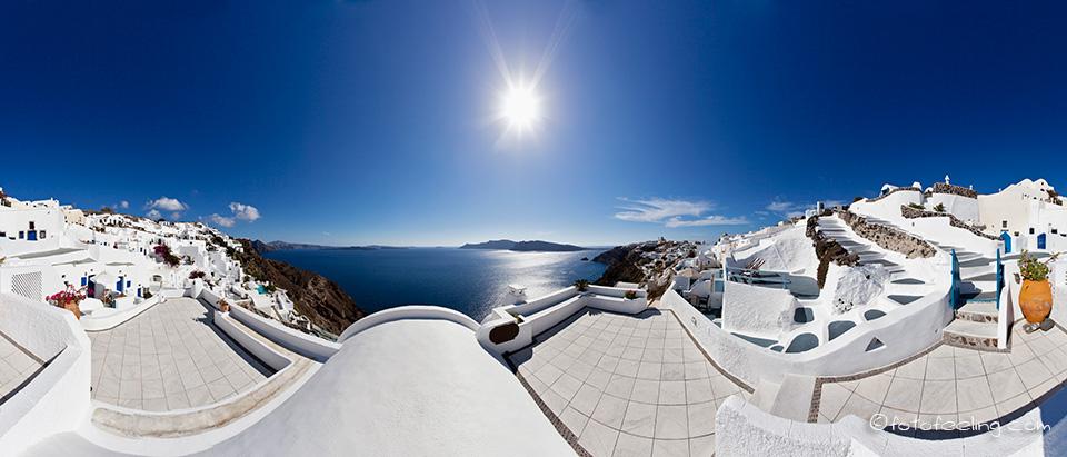Panorama bilder santorin griechenland 2011 for Tolle hotels