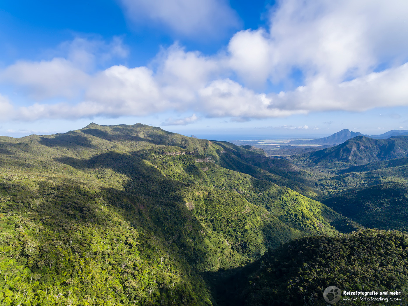 Black River Gorges Nationalpark vom Gorges Viewpoint, Mauritius