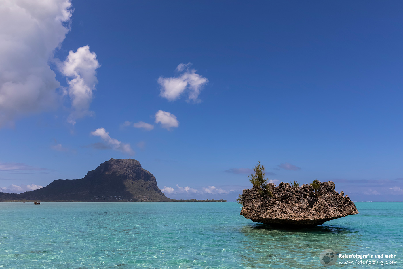 Crystal Rock und Le Morne Brabant, Mauritius