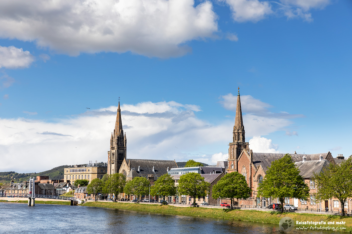 Inverness am River Ness