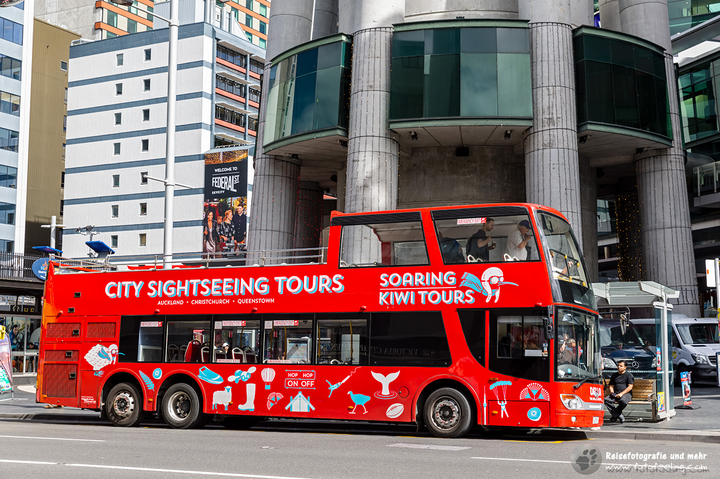 City Sightseeing Tours, Auckland, Nordinsel, Neuseeland
